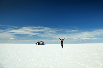 Welcome to the Salar de Uyuni!