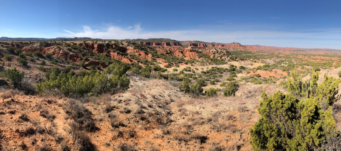Incredible landscape out here!