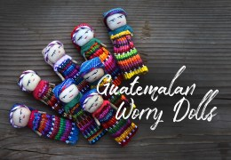 Now In (Limited) Stock: Authentic Guatemalan Worry Dolls. A Great Gift for a Loved One or Yourself!