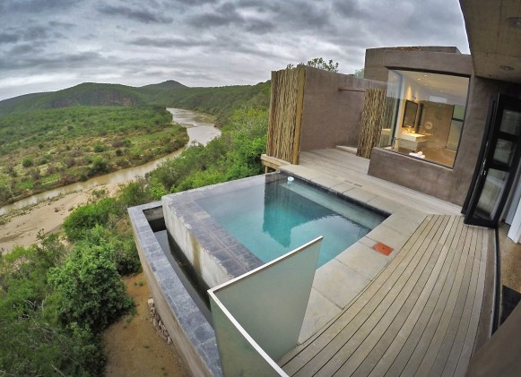 And yes, our suite came with its OWN PRIVATE POOL overlooking the river and the reserve. Talk about getting spoiled!