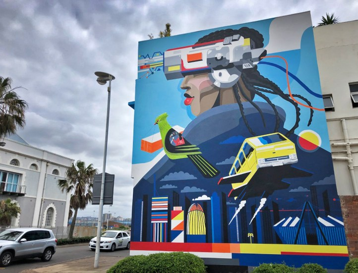 Scenes like these are bringing color and art and life and energy to the streets of Durban. So cool!