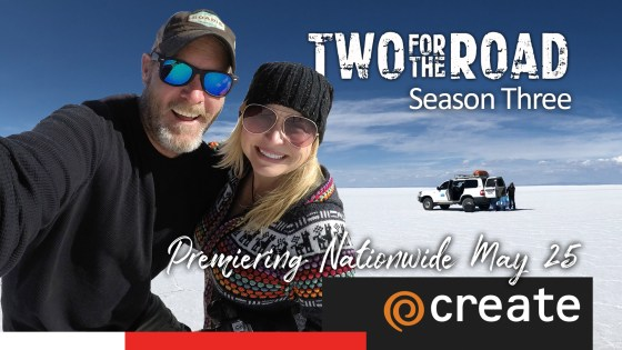It's Official! Two for the Road Returns Nationwide on Create TV for Season Three Run