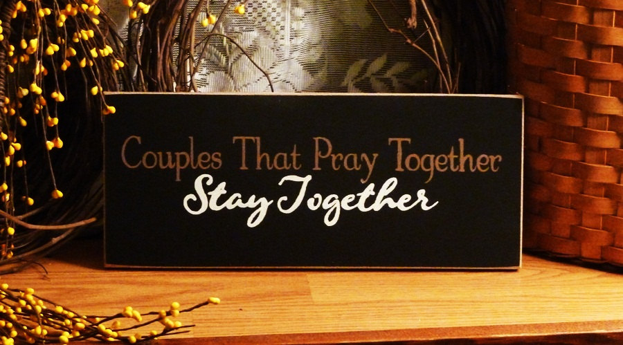 Commit the couple that prays together stays together