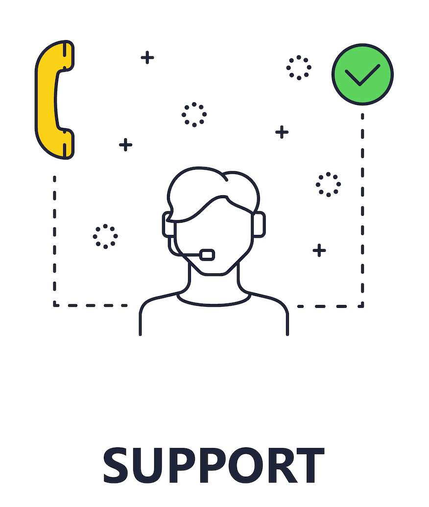 Support Infographic Icon