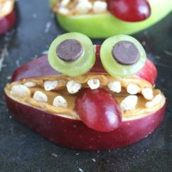 Small Kitchen Refrigerator Counter Tops Apple Monsters – A Nut-free, Healthy Halloween Treat ...