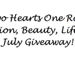 Fashion, Beauty, Lifestyle Two Hearts One Roof July Giveaway