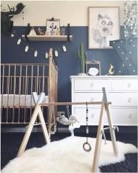 Navy, Grey and Orange Nursery Inspiration and Ideas