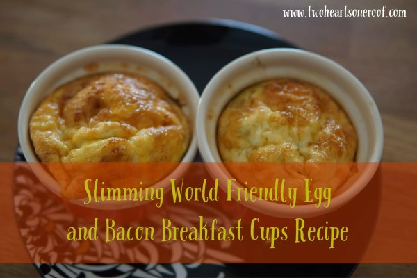 slimming world end and bacon breakfast cups