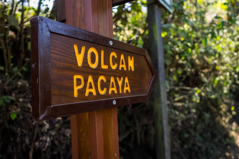 pacaya vulkanen