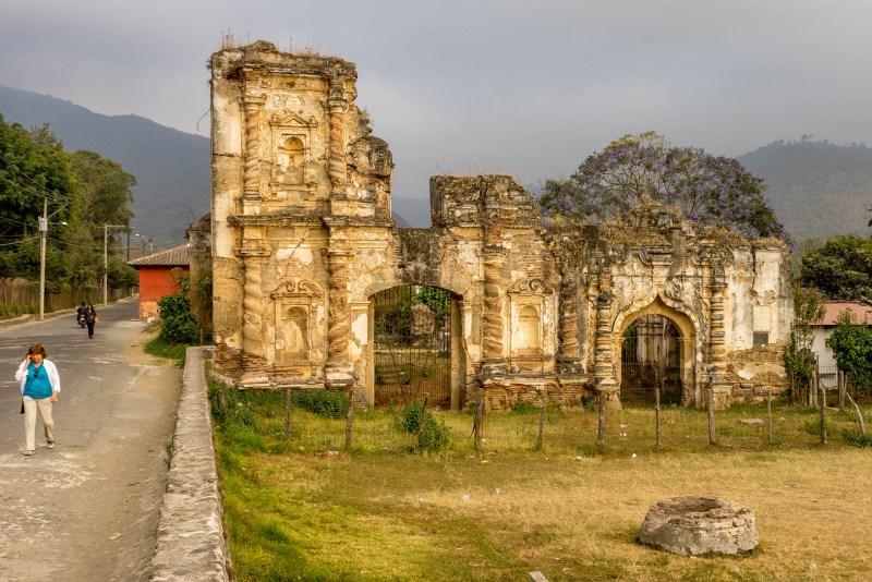 old church ruins antigua
