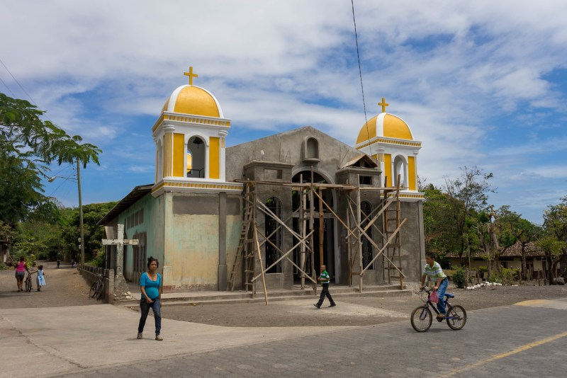 church on ometepe
