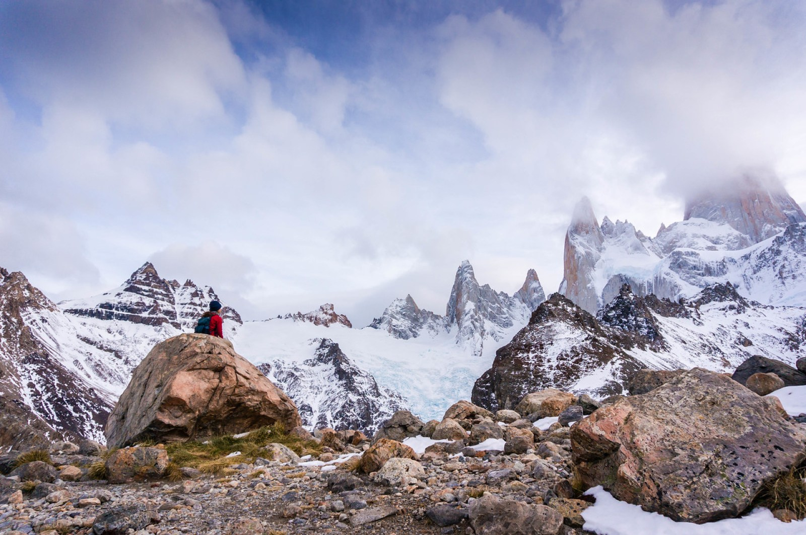 hiking mount fitz roy