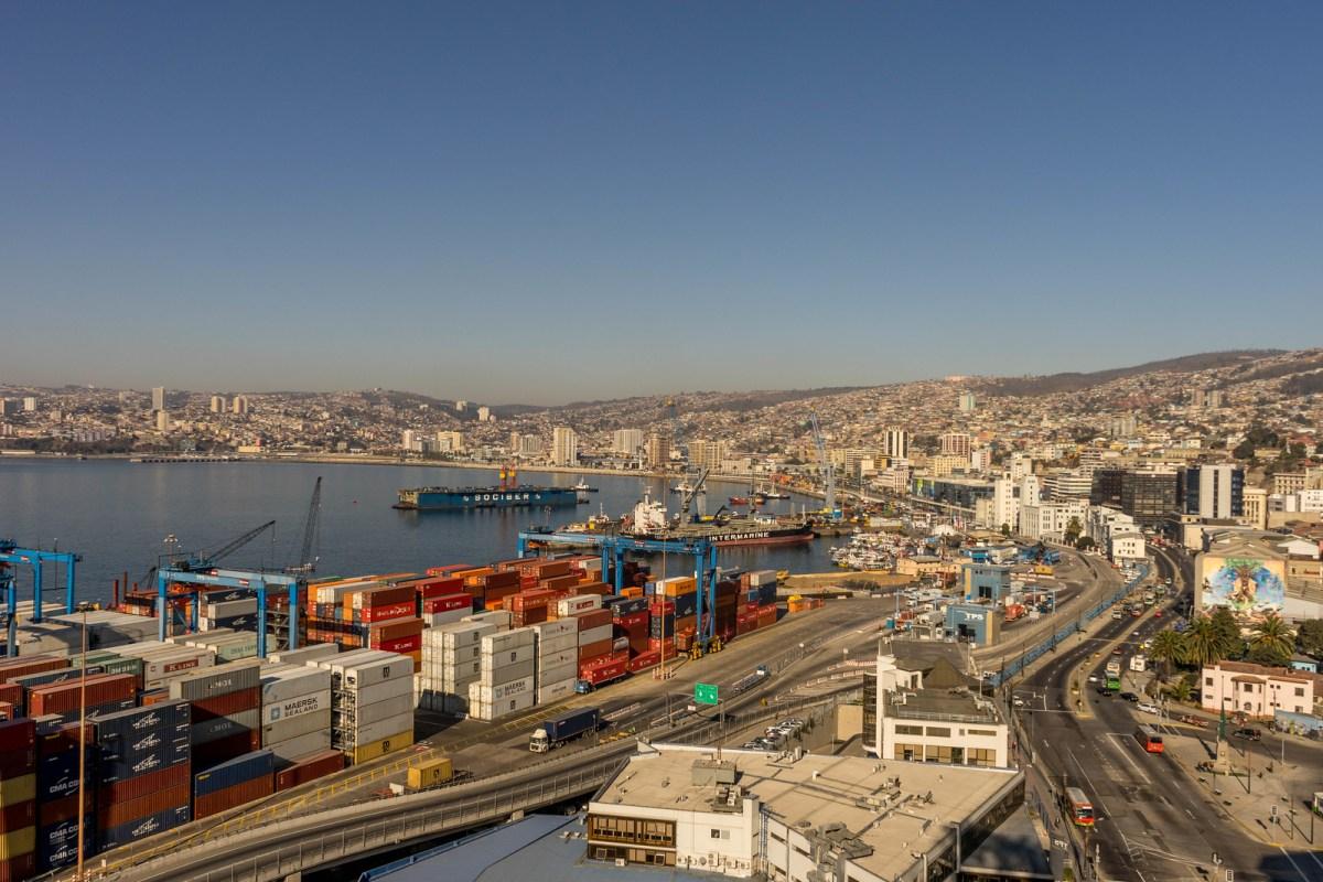udsigt over valparaiso havn