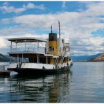 Party boat Okanagan lake