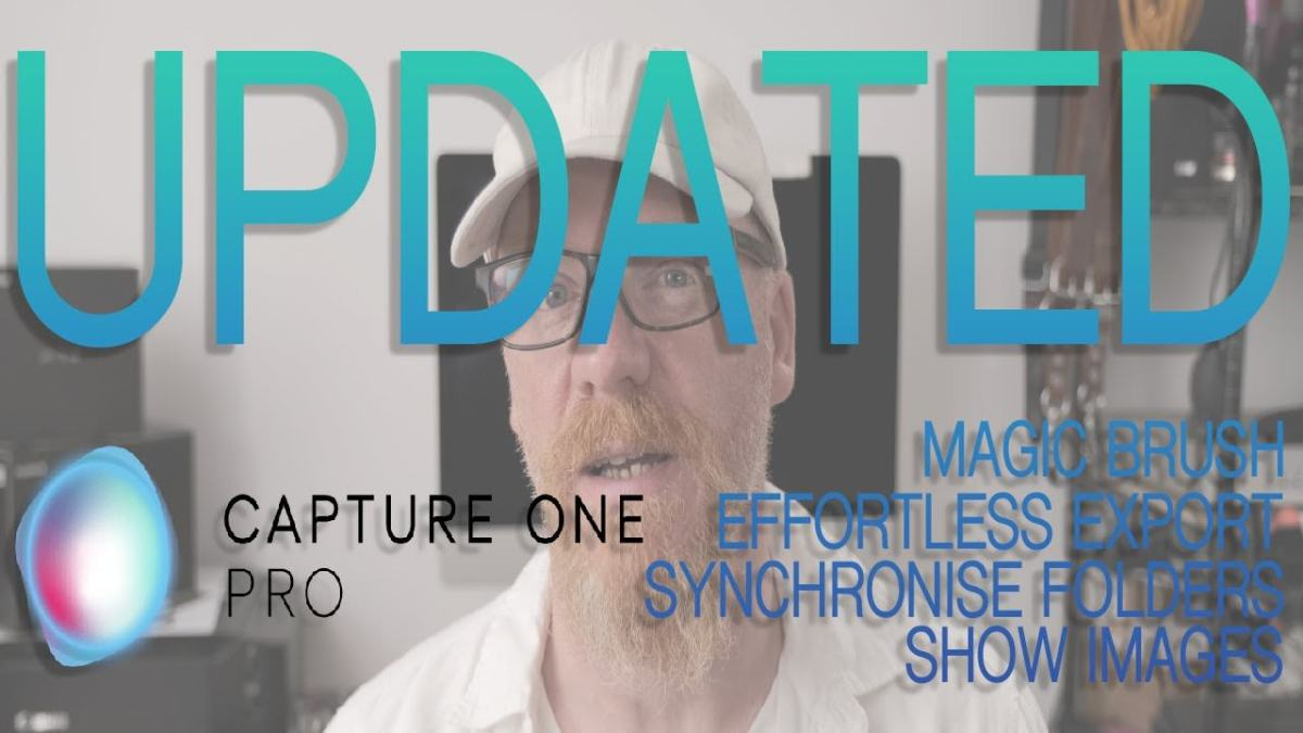 Capture One Pro Now With More Magic, Brush.