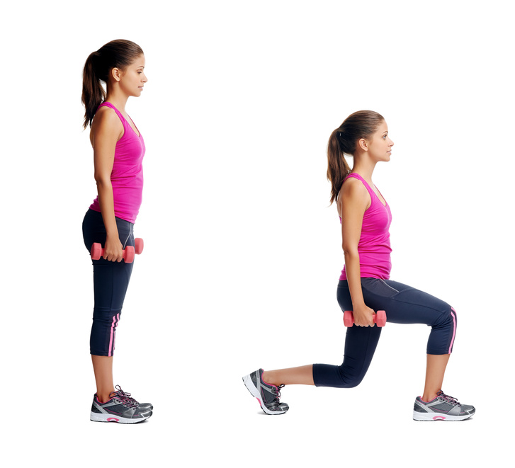 What is a Lunge? - 200 LUNGES