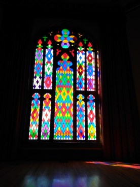 Stained glass in the capitol