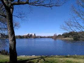 Lake near new capitol
