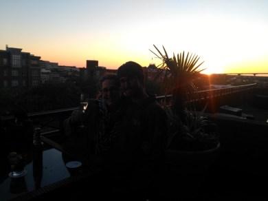 Rooftop in Savannah!