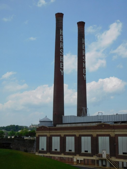 The town of Hershey really wasn't our jam, but these stacks were cool.