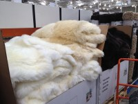 white sheepskin rug costco  Roselawnlutheran