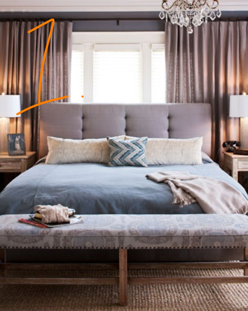 Step Two of a Readers Bedroom Makeover: Our Inspiration