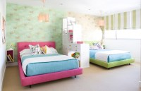 Ideas for Girls Sharing a Bedroom | twoinspiredesign