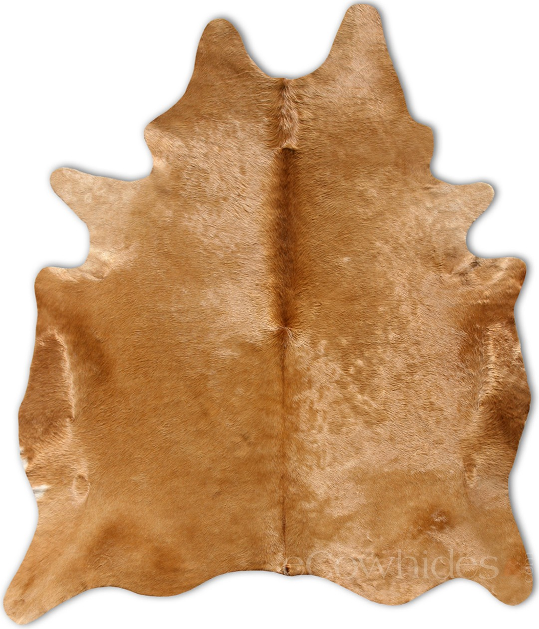 Brown Cowhide rug  twoinspiredesign