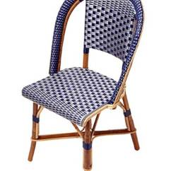 Blue Bistro Chairs Chair 1 2 Rattan Twoinspiredesign
