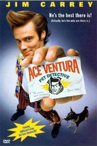 okładka dvd ace ventura psi detektyw