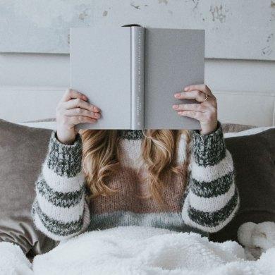 W ramach relaksu możesz poczytać książkę motywacyjną