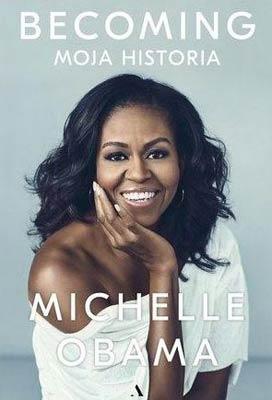 """książki na jesienne wieczory """"Becoming. Moja historia"""" Michelle Obama"""