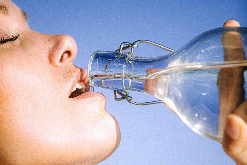 Korzyści z picia wody