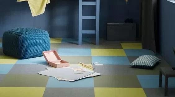 linoleum w pokoju dziecka