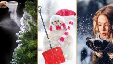 Photo of Śnieg idealny! 6 przepisów na ekologiczny domowy śnieg!