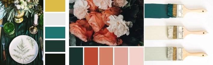 Styl glamour - dobór kolorów
