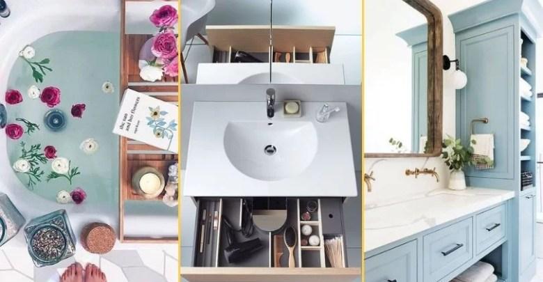 5 sprawdzonych sposobów na praktyczną łazienkę!