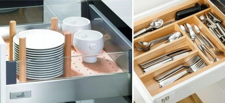 Organizacja szuflad w kuchni [PRZEGLĄD ROZWIĄZAŃ]