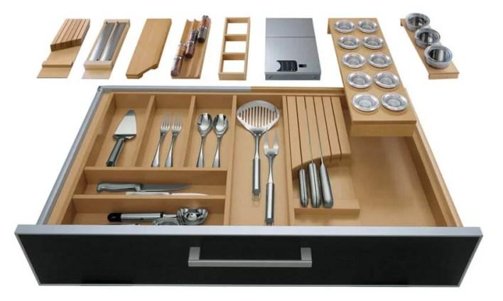 Dodatki do organizerów kuchennych