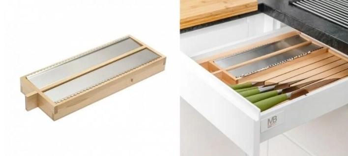 Wkłady drewniany do cięcia folii spożywczej lub aluminiowej