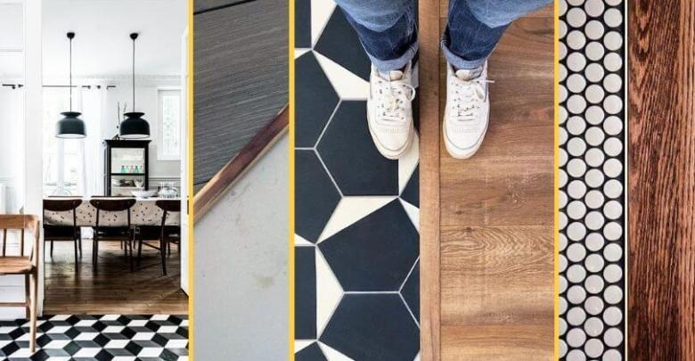 Łączenie podłogi z płytkami - 3 sposoby na stylowe połączenie!