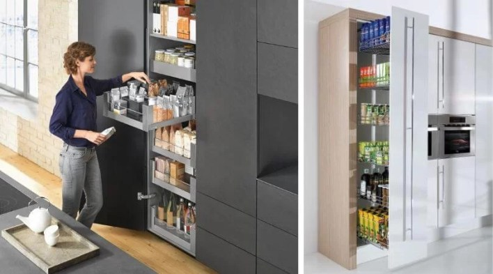 Sposób na szafy gospodarcze, czyli szuflady wewnętrzne zamiast Carg