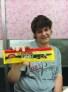 Kris with Norwegian Chocolate