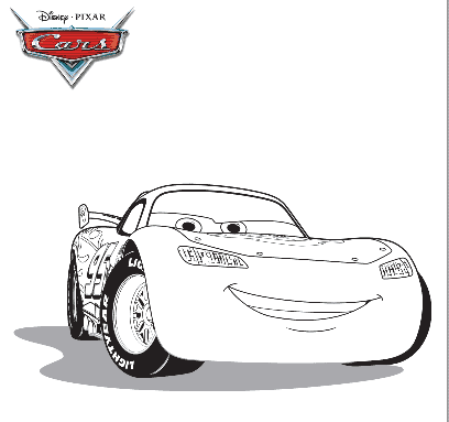 Complimentary Cars 2 Coloring Pages