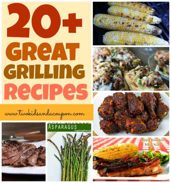 20+ Great Grilling Recipes