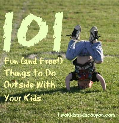 101 fun and free things to do outside with your kids two kids and a coupon. Black Bedroom Furniture Sets. Home Design Ideas