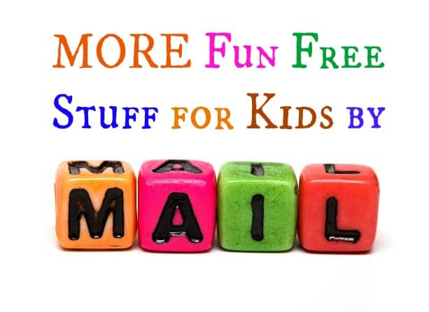more fun free stuff for kids by mail