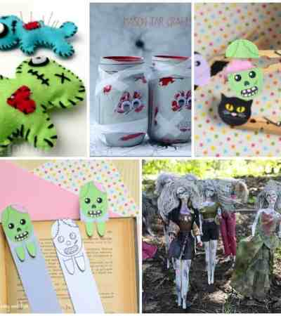clothespin zombie puppet craft spooky crafts for two and a 3666
