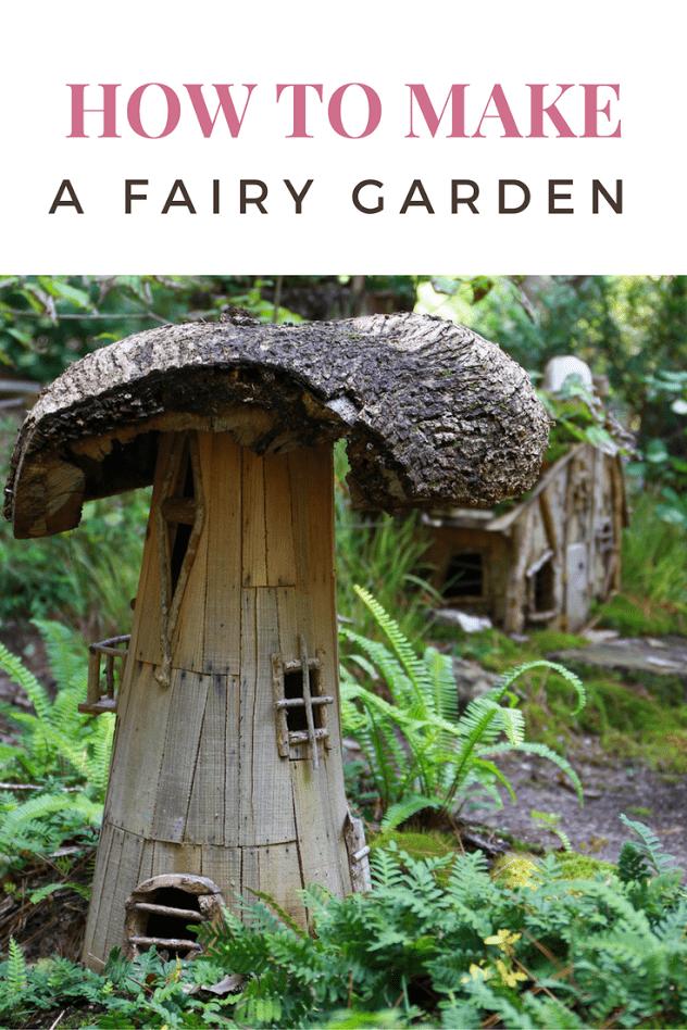 how to make fairy garden worksheet