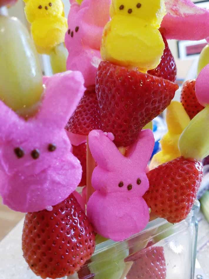 PEEPS Bunny Kabobs | Two Kids and a Coupon
